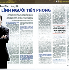 Businessman Dinh Hong Ky: SPIRIT OF THE PIONEER