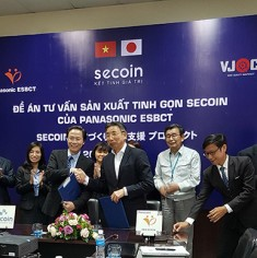 THE FIRST VIETNAMESE ENTERPRISE CONSULTED BY PANASONIC ESBCT (JAPAN)