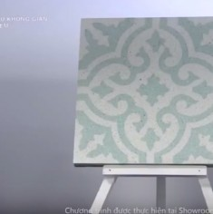 """THE BEAUTY OF ENCAUSTIC CEMENT TILE IN """"COLOR OF SPACE - NOSTALGIA"""""""