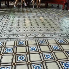 Watch Your Step! Saigon's Amazing Concrete Tiles.