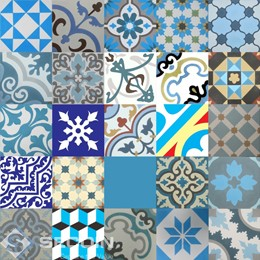 Patchwork Blue