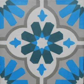 Encaustic cement tile A500-A