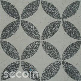 Encaustic Terrazzo tile TA119 (S800, S834)