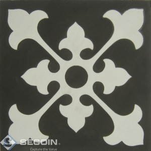 Encaustic cement tile A515-A
