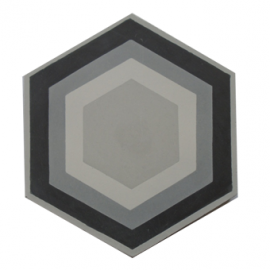 Hexagon tile Her-105