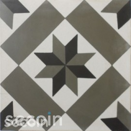 Encaustic cement tile A158 (S800,S834,S6.8)