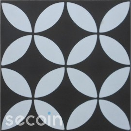 Encaustic cement tile A119-B (S8.1,S1.0)
