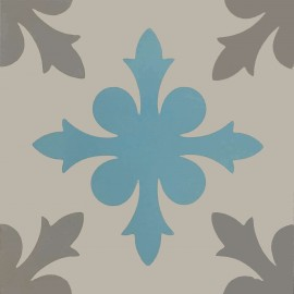 Encaustic cement tile A947 (S834,S7.6,S37)